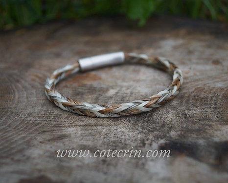 Bracelet fin carré