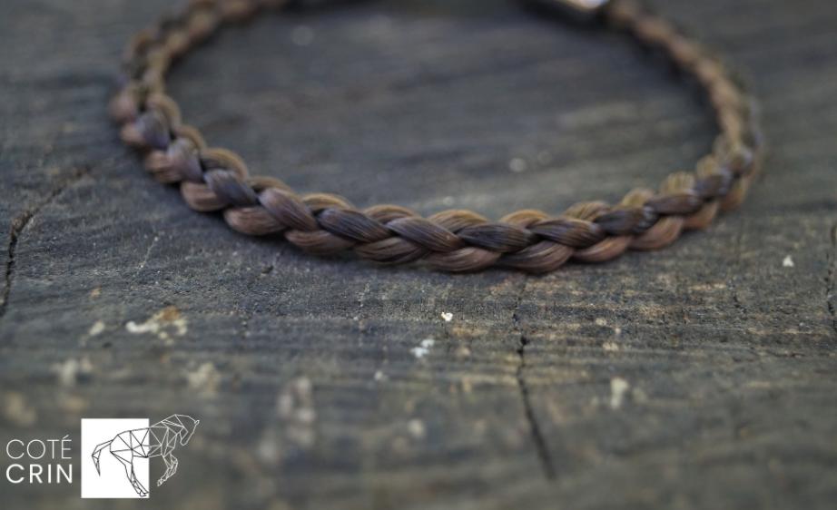 Bracelet 100% cheveux humain