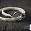 Thumbnail: Bracelet fin 3 brins 2 tours de poignet