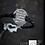 Thumbnail: Bracelet avec plaque en argent gravée