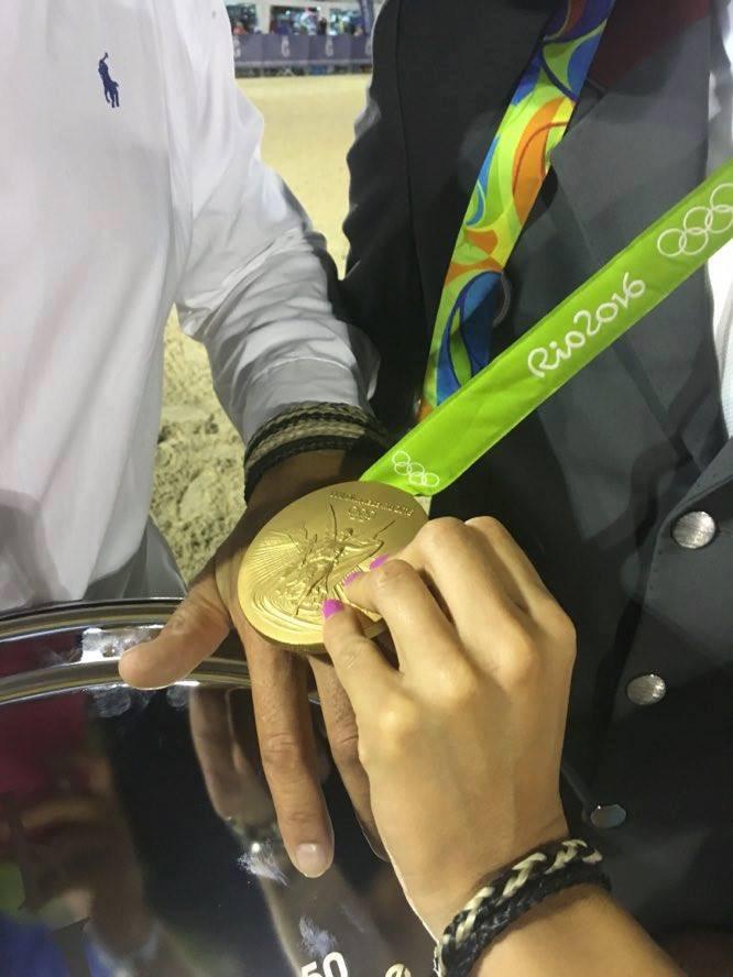 Coyé Crin et la Médaille d'O Olympique