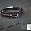Thumbnail: Bracelet fin avec mini mors en argent et fermoir acier gravé ou en argent