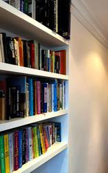Bespoke bookshelves, N4