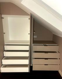 Under eaves storage, N8