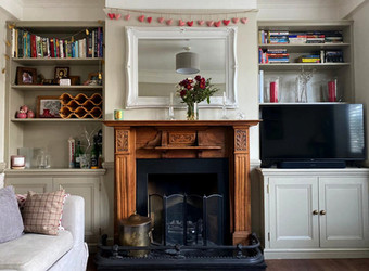 Reception alcoves, N3