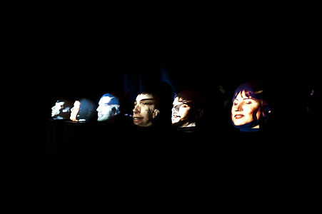 Magali Rifflart Villeneuve artiste, We are just heads