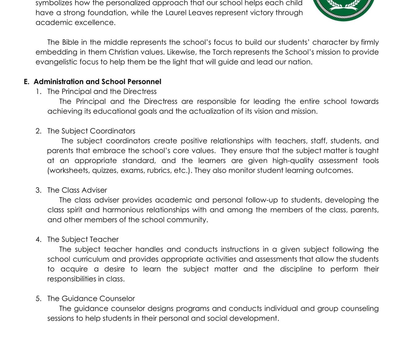 Student Handbook SY 2020-2021 (IDL) - Go