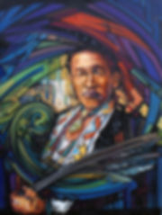 jpjp.OmahaMan.jpg Portrait of native american cheif of th Omaha tribe. Original, hand-painted. Oil on canvas.
