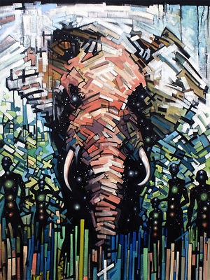 j.p.schafer_elephant_2015_oil.canvas.36x