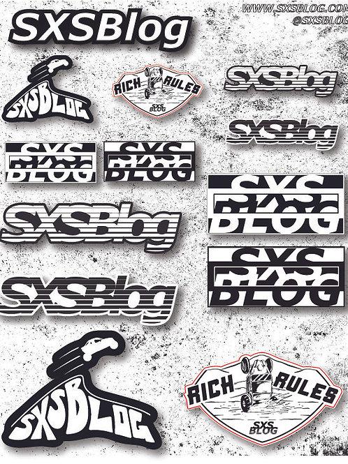 SXSBlog STICKER PACK (13 stickers!)