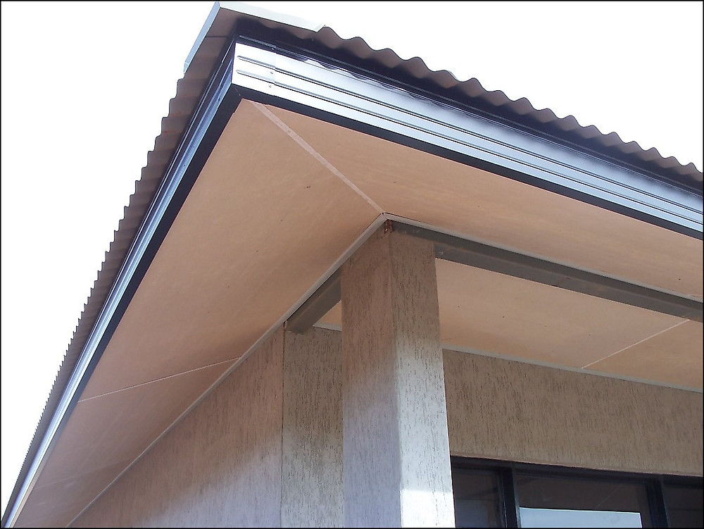 An example of fascia on a home
