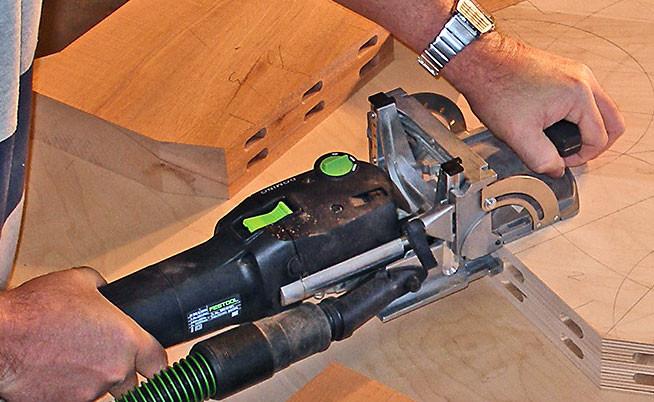 Domino jointer system German tool manufacturer Festool