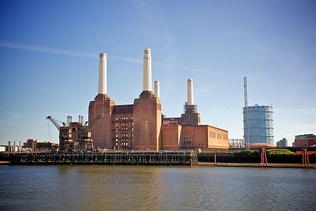 Battersea Power Station, Nine Elms, London.