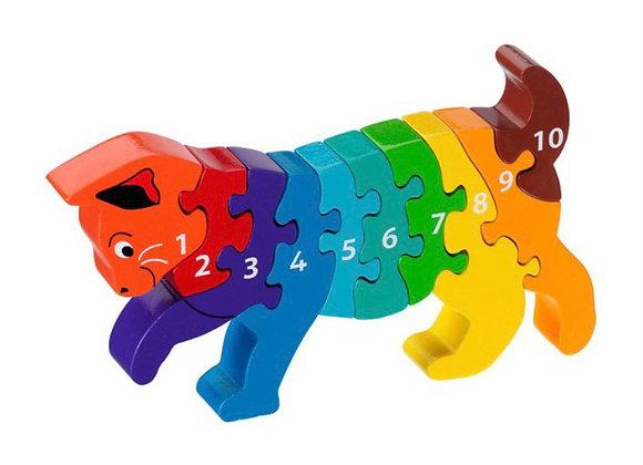 Jig-so Cath 1-10 Cat Jigsaw