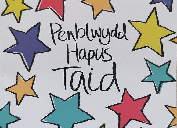 Penblwydd Hapus Taid