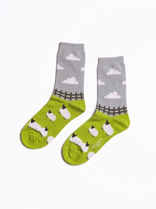 Sanau Sheep Meadow Miss Sparrow Socks