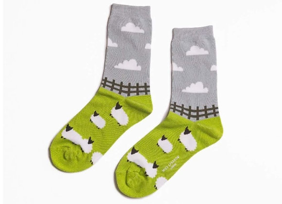 Sanau Sheep Meadow Miss Sparrow Socks