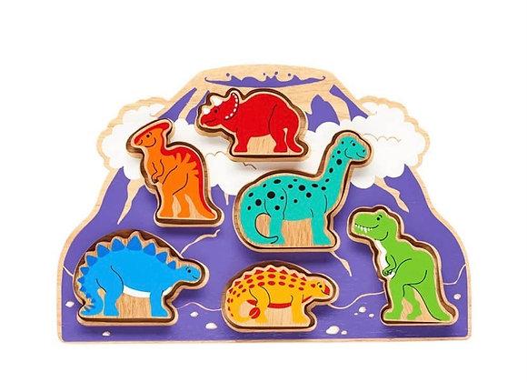 Sortiwr Siapiau Deinosoriaid Lanka Kade Dinosaur Shape Sorter