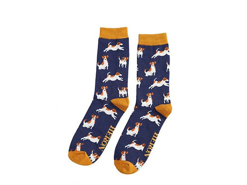 Sanau Mr Heron Jack Russell socks