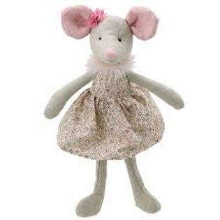 Llygoden / Mouse in a dress Wilberry Friends