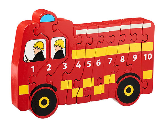 Jig-so Injan Dan Lanka Kade Fire Engine Jigsaw