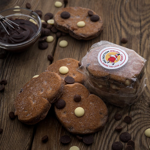 Pice Ar Y Maen Triple Chocolate Welsh Cakes