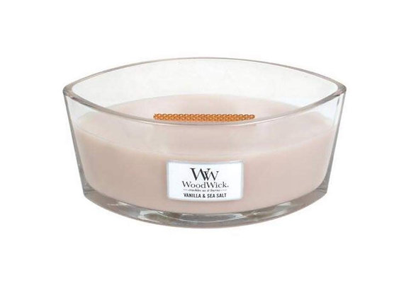 Cannwyll Vanilla & Sea Salt Woodwick Candle