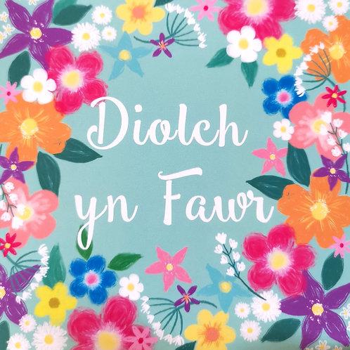 Diolch Yn Fawr