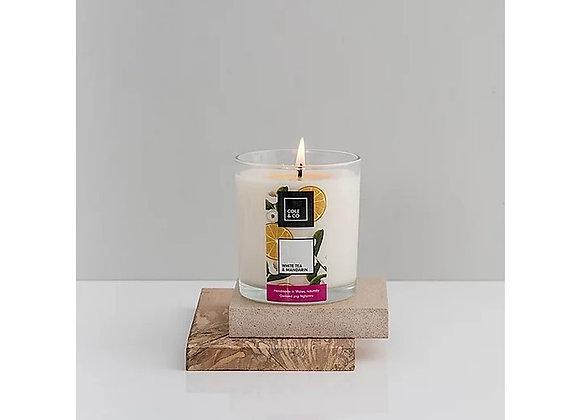 Cannwyll White Tea & Mandarin Candle