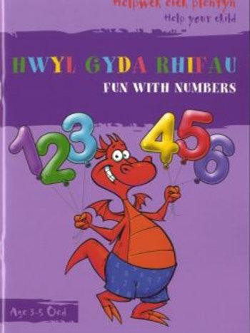 Helpwch eich Plentyn/Help Your Child:Hwyl gyda Rhifau/Fun with Numbers Elin Meek