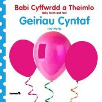 Babi Cyffwrdd a Theimlo: Geiriau Cyntaf