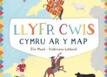 Cymru ar y Map: Llyfr Cwis - Elin Meek