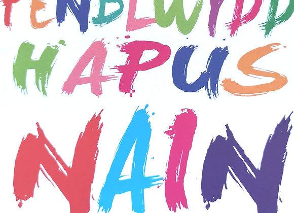 Penblwydd Hapus Nain