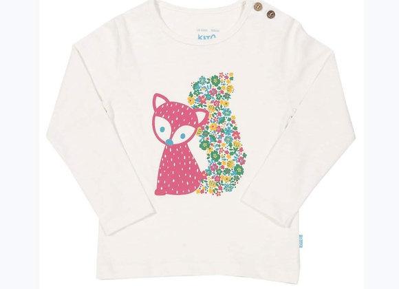 Crys-T Llwynog Kite Fox T-shirt