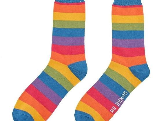 Sanau Rainbow Mr Herron Socks