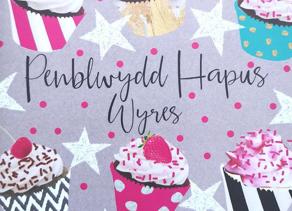 Penblwydd Hapus Wyres