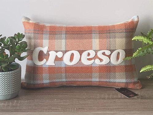 Clustog Croeso Cushion