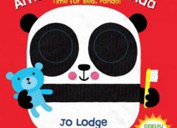 Cyfres y Llygaid Mawr: Amser Gwely Panda / Time for Bed, Panda