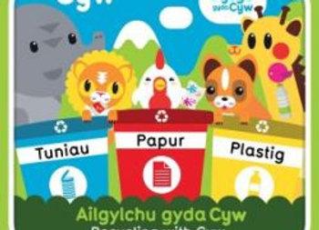 Cyfres Cyw: Ailgylchu gyda Cyw - Anni Llŷn