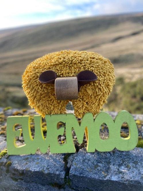 Ewemoo Footstool Mwstard/ Mustard