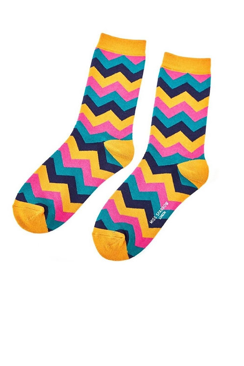 Sanau Zig Zag Miss Sparrow Socks