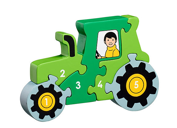 Jig-so Tractor Lanka Kade Tractor Jigsaw