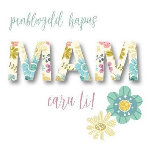 Penblwydd Hapus Mam