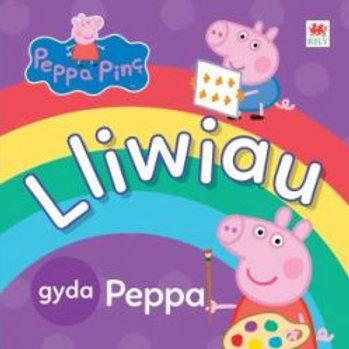 Peppa Pinc: Lliwiau gyda Peppa - Neville Astley, Mark Baker