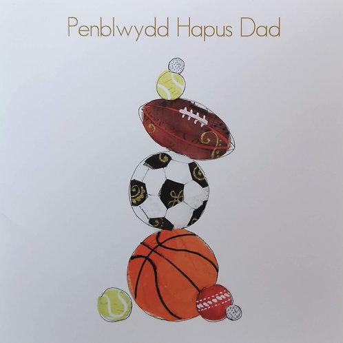 Penblwydd Hapus Dad