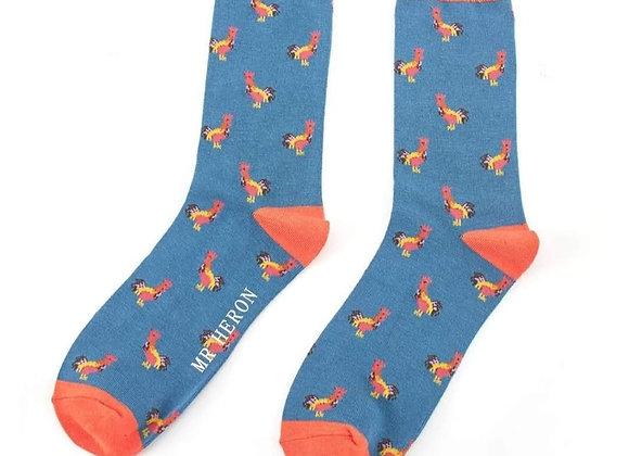 Sanau Roosters Mr Herron Socks