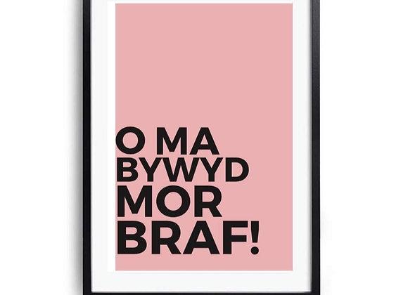 Print 'O ma bywyd mor braf!'