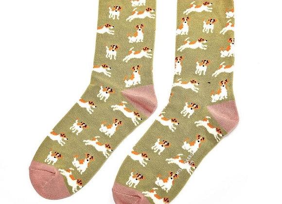 Sanau Jack Russels Miss Sparrow Socks