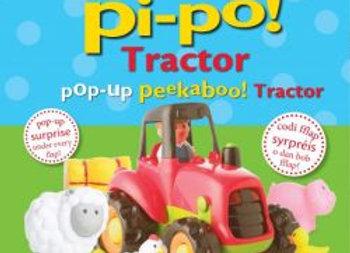Codi Fflap Pi-Po! Tractor / Pop-Up Peekaboo! Tractor - Dawn Sirett