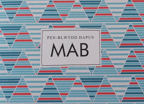 Penblwydd Hapus Mab